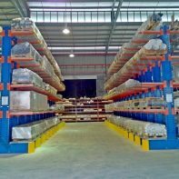 CWH Heavy Duty Island Cantilever Racking System