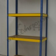 CWH Boltless Rack Blue & Yellow